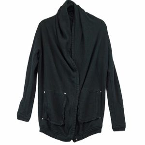 Wilfred free black Rousseau cocoon cardigan